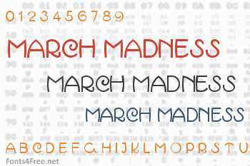 March Madness Font