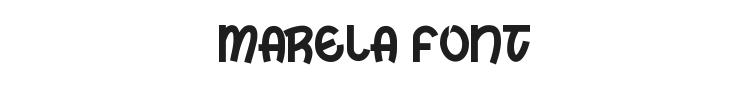 Marela Font Preview