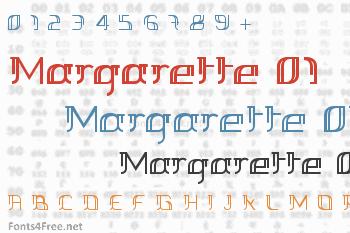 Margarette 01 Font