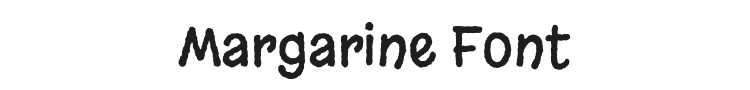 Margarine Font Preview