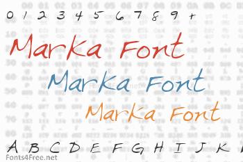 Marka Font