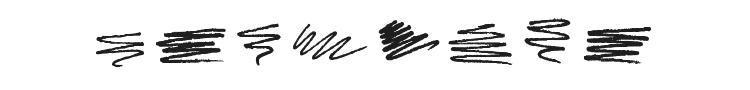 Marker Scribbles Font