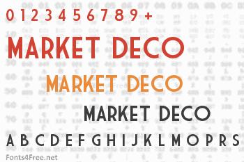 Market Deco Font