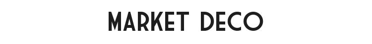 Market Deco Font Preview
