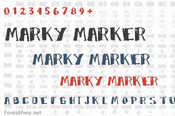 Marky Marker Font