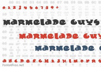 Marmelade Guys Font