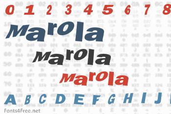 Marola Font