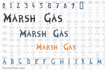 Marsh Gas Font