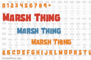 Marsh Thing Font