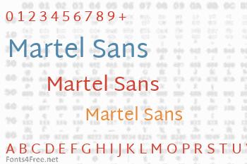 Martel Sans Font
