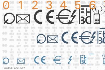 Martin Vogels Symbols Font