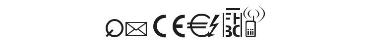 Martin Vogels Symbols Font Preview