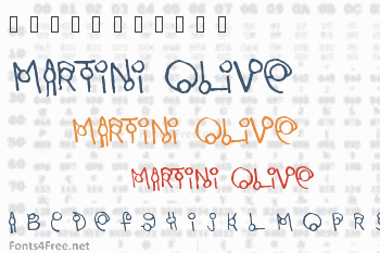 Martini Olive Font