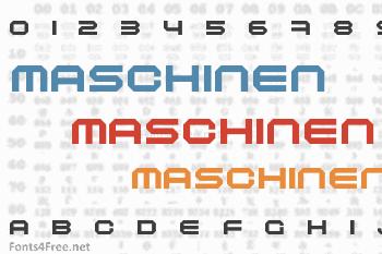 Maschinen Font
