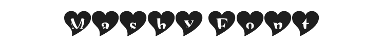 Mashy Valentine Font Preview