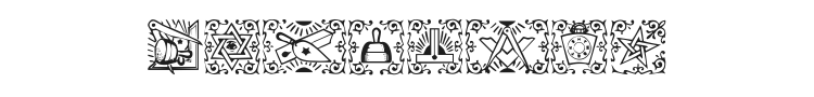 Masonic Font