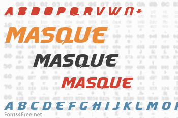Masque Font