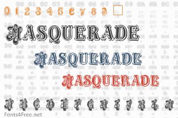 Masquerade Font