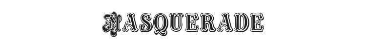 Masquerade Font Preview