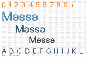 Massa Font