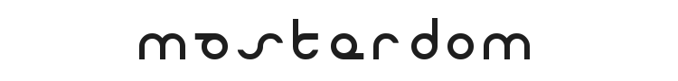 Masterdom Font Preview