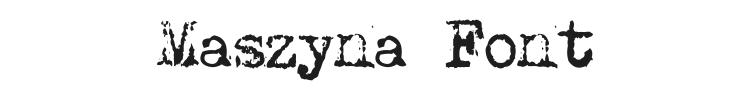 Maszyna Font Preview