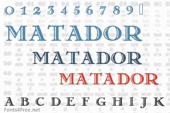 Matador Font