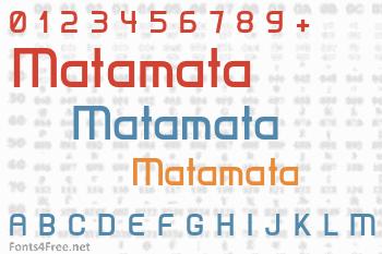 Matamata Font