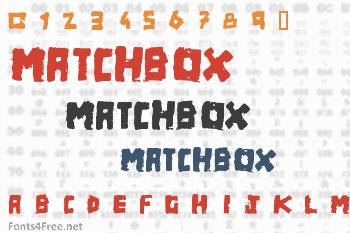 Matchbox Font