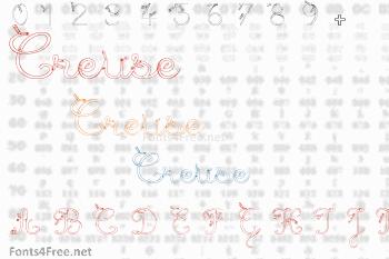 Maternellecolor Creuse Font
