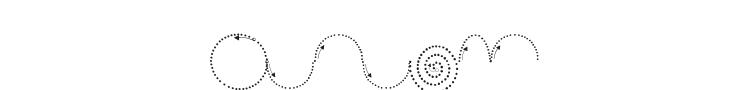 Maternellecolor Graphisme 2 Font
