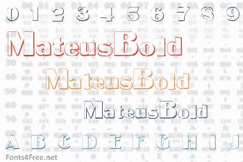 MateusBold Font