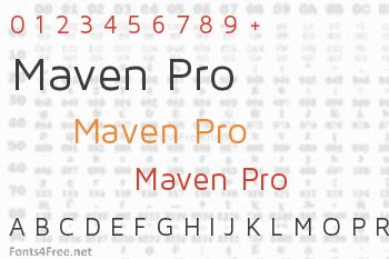 Maven Pro Font