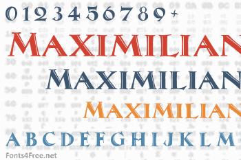 Maximilian Antiqua Font