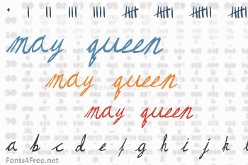 May Queen Font