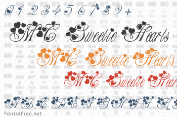 MC Sweetie Hearts Font