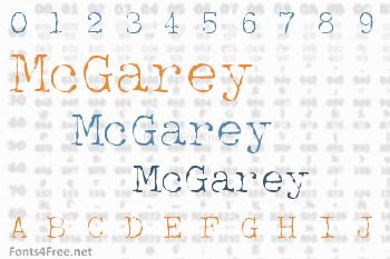 McGarey Font