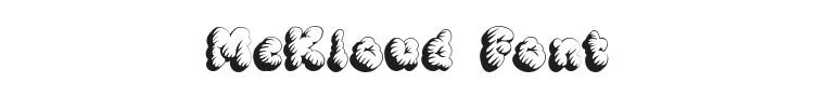 McKloud Font Preview