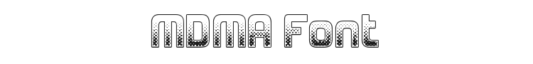 MDMA Font Preview