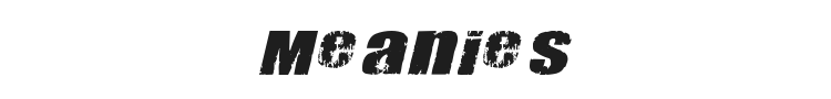 Meanies Font