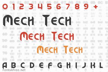 Mech Tech Font
