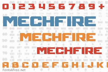 Mechfire Font