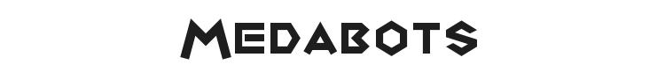 Medabots Font Preview