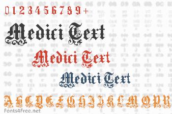 Medici Text Font
