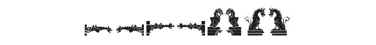 Medieval Dingbats Font Preview