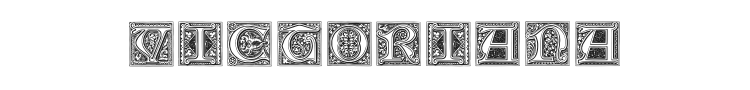 Medieval Victoriana Font Preview