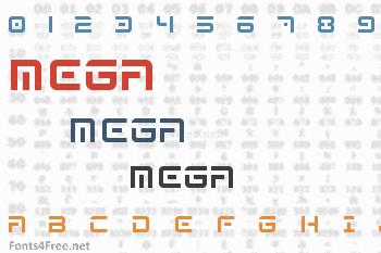 Mega  Font