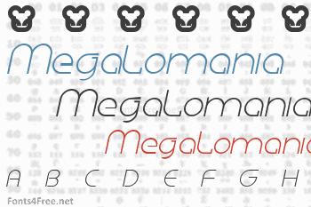 Megalomania Font