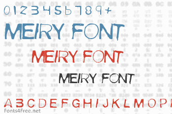 Meiry Font