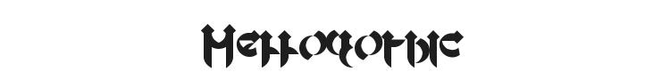 Mellogothic